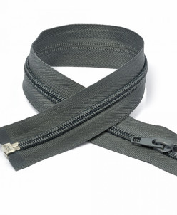 Молния пласт. спираль №5-N 60см цв.F320 серый
