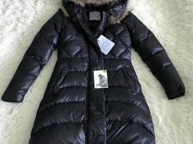 moncler зимнее пальто на гагачем пуху р 5
