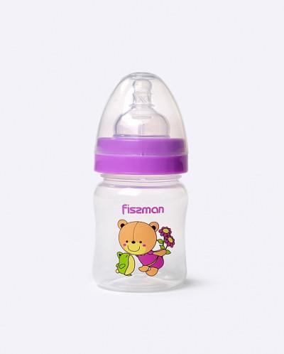 6885 FISSMAN Бутылочка для кормления с широким горлышком 120
