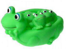 Игрушки для ванны «Лягушка с лягушатами»