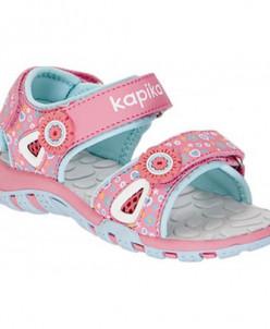 Туфли открытые Капика 81058-2 коралловый (23-27)