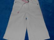 Бриджи джинсовые Сolabear с ремнем, 110-120 см