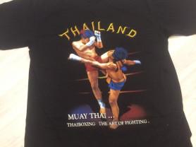 мужская футболка , тайский бокс