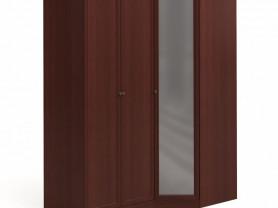Угловой шкаф большой с зеркалом