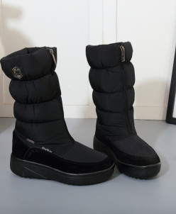 Дутики King Boots KB581SW Schwarz Черный