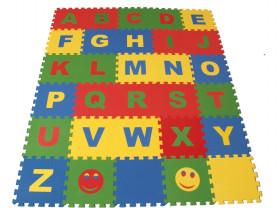 коврик пазл Английский алфавит