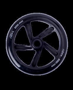 Колесо для самоката Ridex SW-100, 200 мм, PU, черное