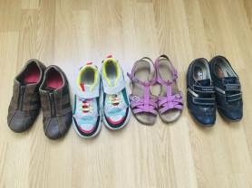 Пакет кожаной обуви р.36
