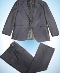 Комплект 3в1 д/м пиджак , брюки , жилет  СЕРЫЙ