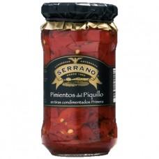 Красные перцы 'Piquillo' (полоски с маслом и чесноком)350 гр