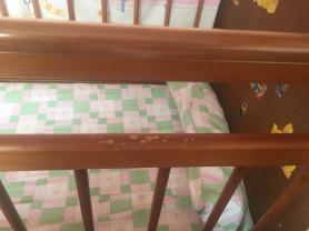Детская кроватка со шкафчиками