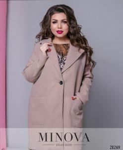 Пальто №636Б-Капучино