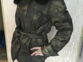 Куртка Savag с натуральным мехом