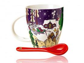 Новогодний набор от Maja Sten . Дизайнерская посуд