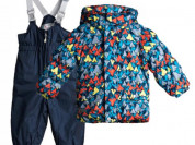 Куртка и полукомбинезон TokkaTribe Цифровой комуфя