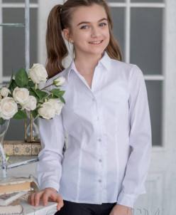 Адель  блузка, белая