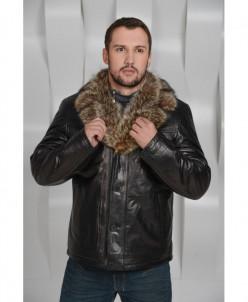 Мужская куртка на меху из енота