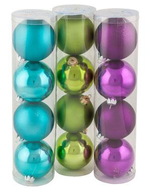"""Набор шаров """"Новогодний"""", диаметр 75 мм."""