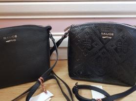 Новая кожаная черная сумка Италия оригинал