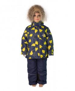 Комплект для мальчика «ЭДДИ» сине-желтый