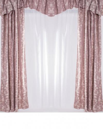 Комплект тюль+шторы+ ламбрикен 300*260