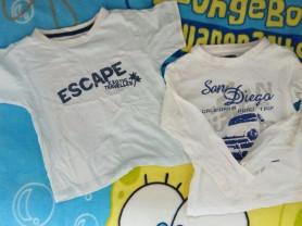 Отдам две футболки р.98-104 даром