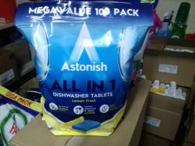 Таблетки для посудомоечных машин Astonish All in 1