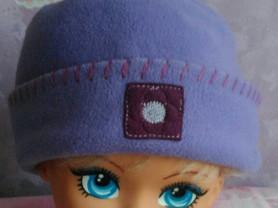 Флисовая шапка, на 2-5лет.