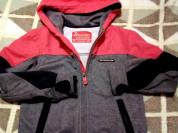 Стильная спортивная куртка с капюшоном р.98-104...