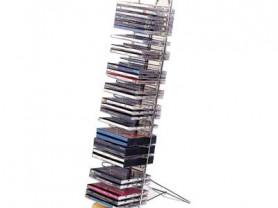 Стойка напольно-настенная на 50 CD металл+отделка