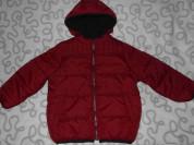 Новая куртка Kidkanai с капюшоном, 110-116 см