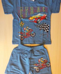 Комплект для мальчика: футболка+шорты