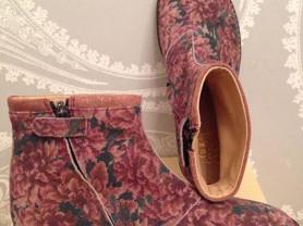 Ботинки для девочки 33 размер. Франция