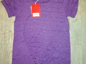 Футболка Новая фирма zolla р. 42.. Цвет фиолетовый