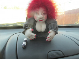 Кукла попик-сувенир.