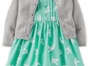 Новый комплект платье из 3 предметов carters 18 м