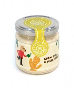 Крем-мед с имбирем 220 мл Доступен к заказу