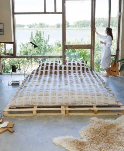 Комплект постельного белья Хлебные тосты, 2-х спальный