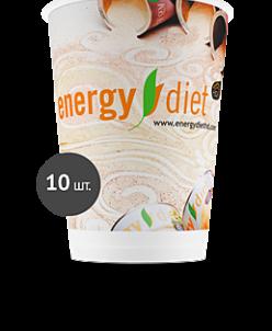 Бумажные одноразовые стаканчики Energy Diet