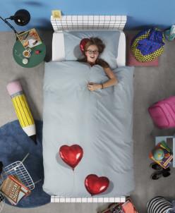 Комплект постельного белья Сердце в облаках 1,5-спальный