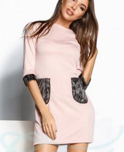 Платье меховые карманы Gepur