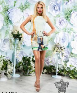 Платье без рукавов 14484