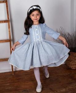 """Платье для девочки """"Полоска-3"""""""