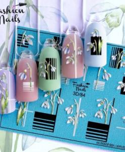 Fashion Nails, Слайдер-дизайн 3D/84