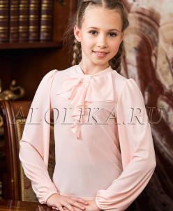 Трикотажная блузка  В*италина миндаль