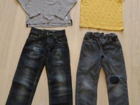Фирменные джинсы, поло 7-10 лет почти новые и б/у