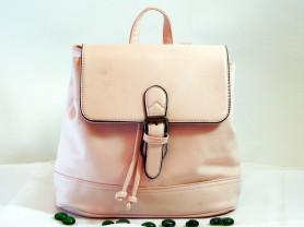 Рюкзак классический молочного цвета