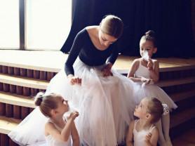 День Рождения для девочек с Балериной