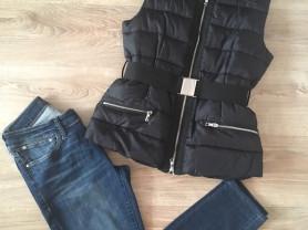 Жилетка +джинсы