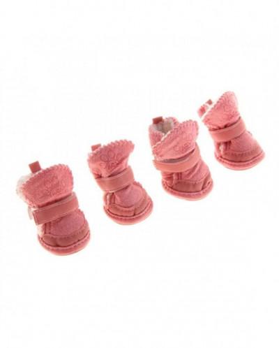 Ботинки Элеганс, набор 4 шт, размер 3 (подошва 5 х 4,2 см)